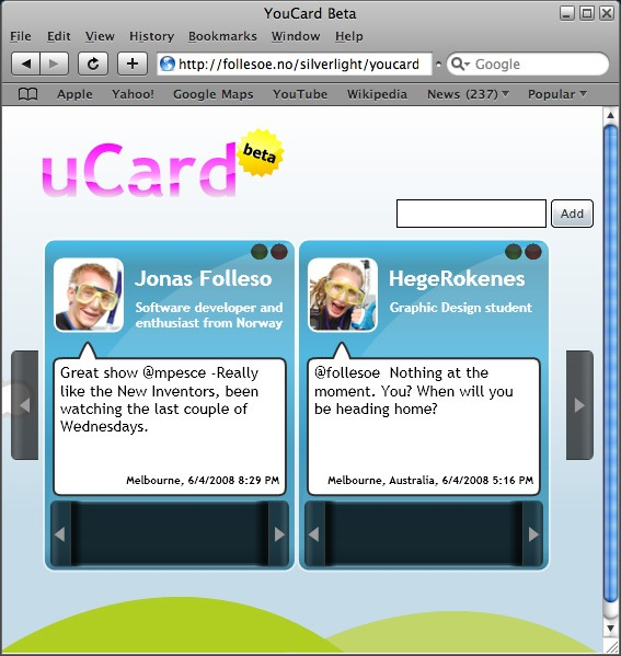 YouCardScreenshot